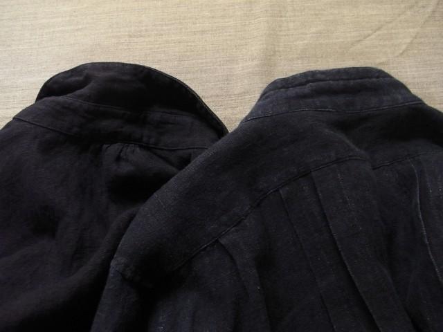 洗いました / classic frenchwork indigoheavylinen shirt_e0130546_19164732.jpg