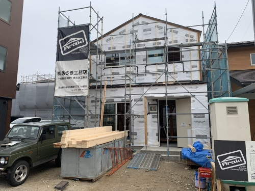 「三角屋根のかわいいお家」@内灘_b0112351_11571130.jpeg