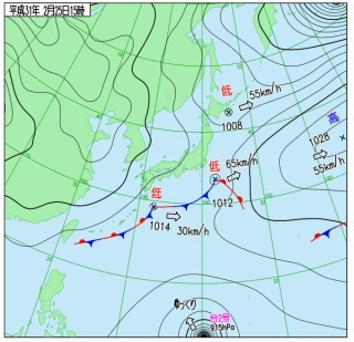 2月25日 冬らしく雨続き_d0113459_17553661.jpg