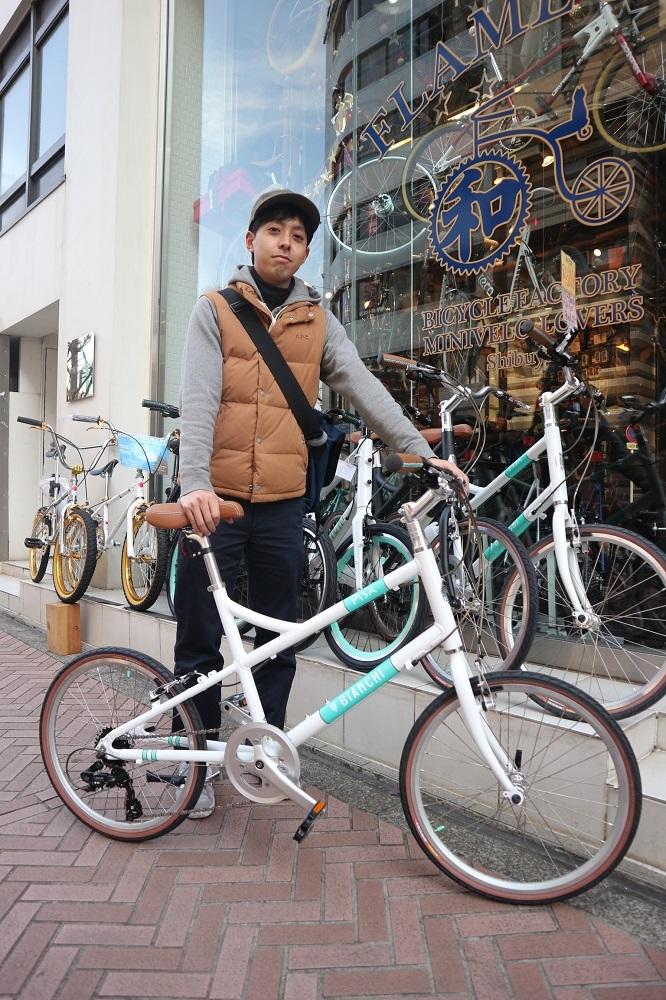 2月25日 渋谷 原宿 の自転車屋 FLAME bike前です_e0188759_13071939.jpg
