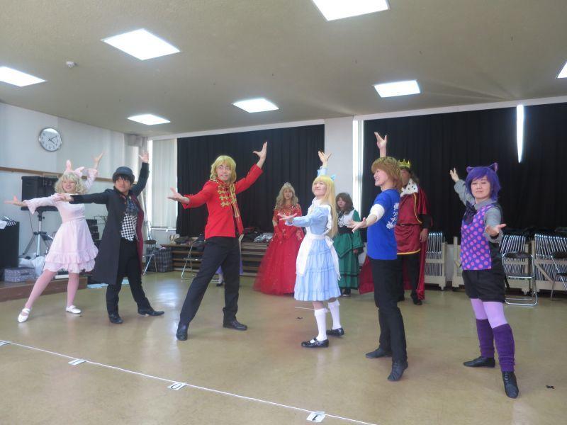 劇団KCM2019年3月公演「アリスと不思議の国」が巽小学校で_b0326483_21035255.jpg