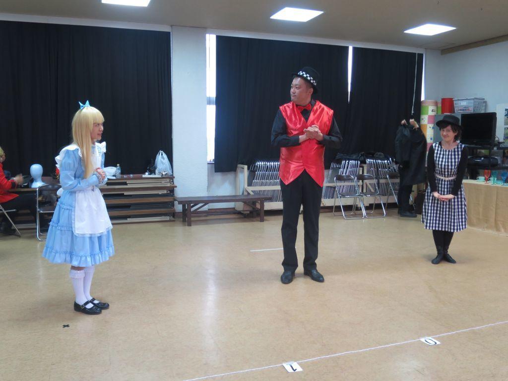 劇団KCM2019年3月公演「アリスと不思議の国」が巽小学校で_b0326483_21055115.jpg