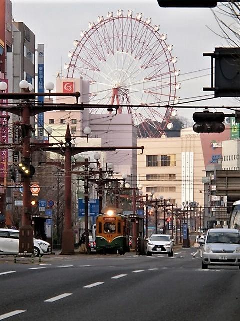 藤田八束の路面電車と観光、鹿児島の路面電車は面白く歴史感があるそして観光事業に貢献、神戸の街に路面電車が欲しい_d0181492_08215768.jpg