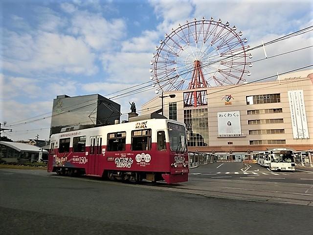 藤田八束の路面電車と観光、鹿児島の路面電車は面白く歴史感があるそして観光事業に貢献、神戸の街に路面電車が欲しい_d0181492_08223956.jpg
