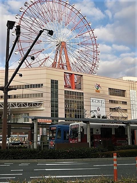 藤田八束の路面電車と観光、鹿児島の路面電車は面白く歴史感があるそして観光事業に貢献、神戸の街に路面電車が欲しい_d0181492_08224896.jpg