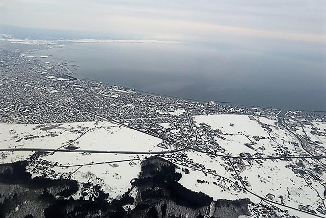 藤田八束の鉄道写真@青森は雪の中浅虫温泉の浮島は絶景、青森のお薦めお土産をご紹介_d0181492_22210609.jpg