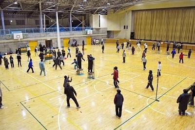 地区対抗ソフトバレーボール大会なのだ!_c0259934_15422476.jpg