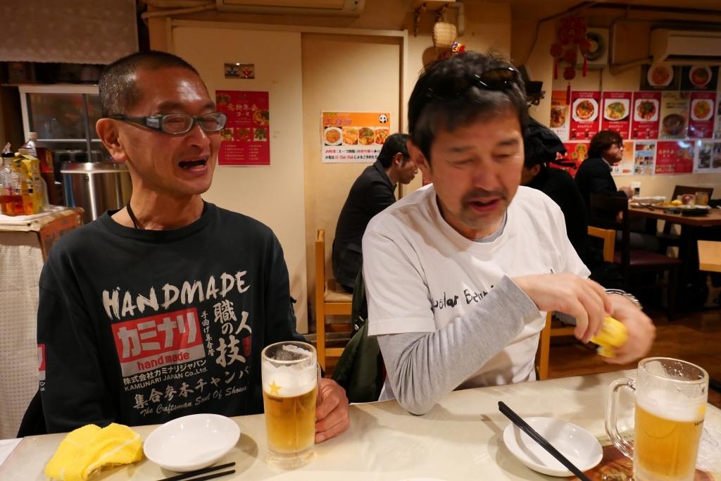 ギヤギヤ会 in 新宿_f0050534_07531648.jpg