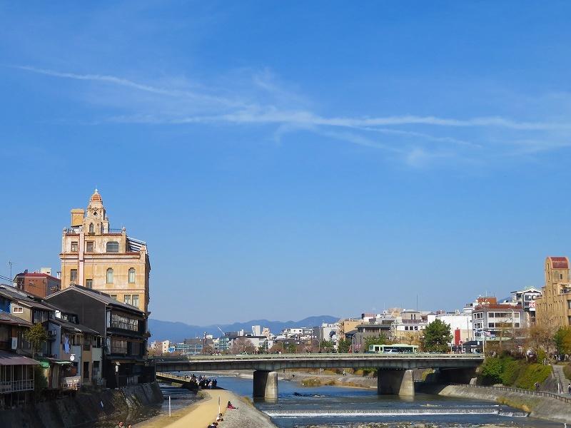 京都鴨川の様子20190225_e0237645_23202516.jpg