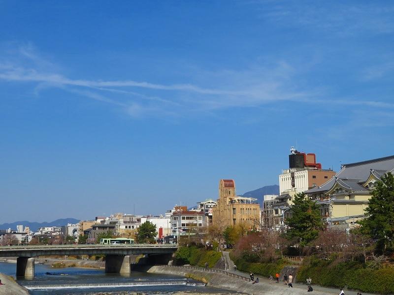 京都鴨川の様子20190225_e0237645_23202538.jpg
