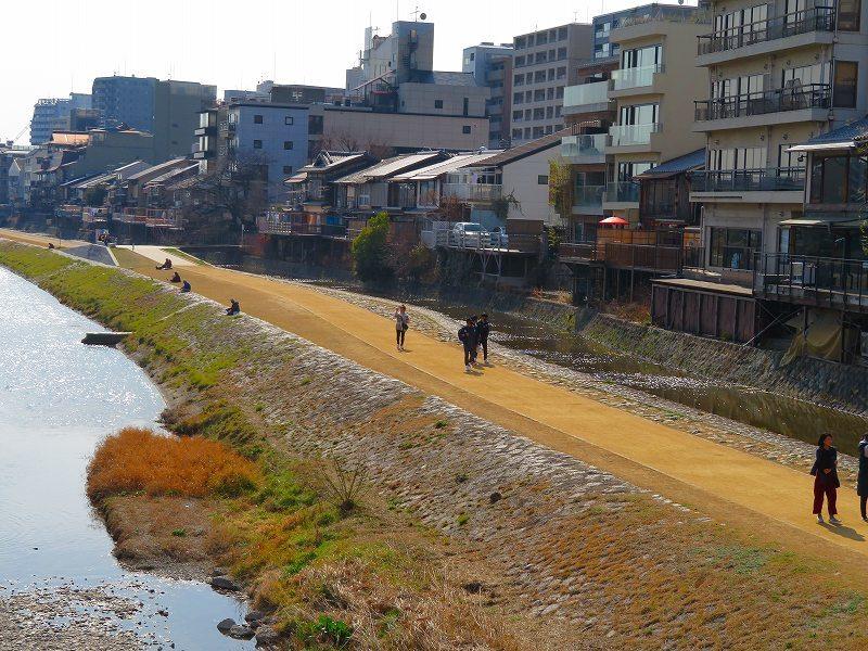 京都鴨川の様子20190225_e0237645_23202618.jpg
