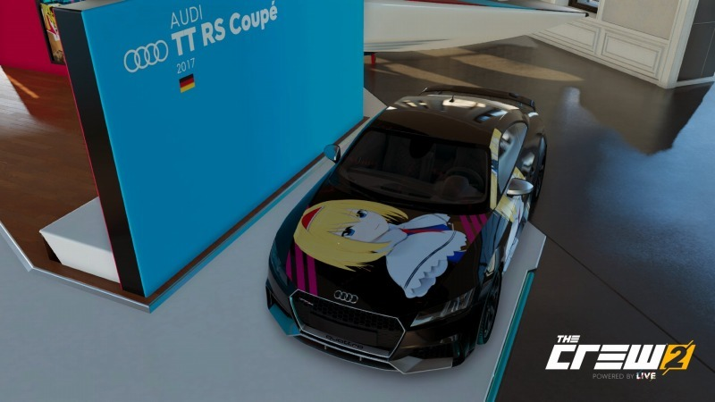 ゲーム「THE CREW2 アリスの痛車製作の続き」_b0362459_15211901.jpg