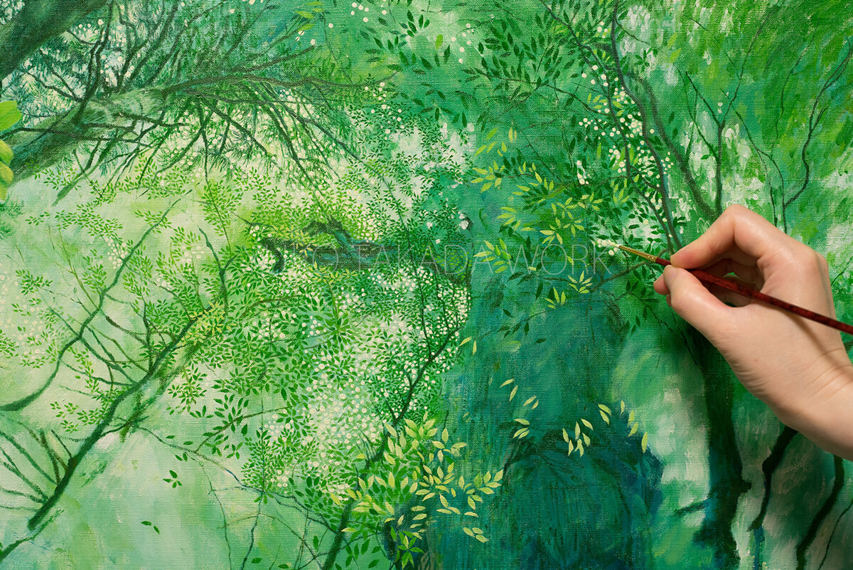 絵を描くのって楽しい‥_b0240382_21255142.jpg