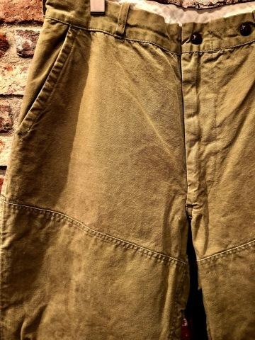 "1940s \"" U.S NAVAL \"" ALL cotton POPLIN - VINTAGE TRENCH COAT - D.NAVY - ._d0172088_20403180.jpg"