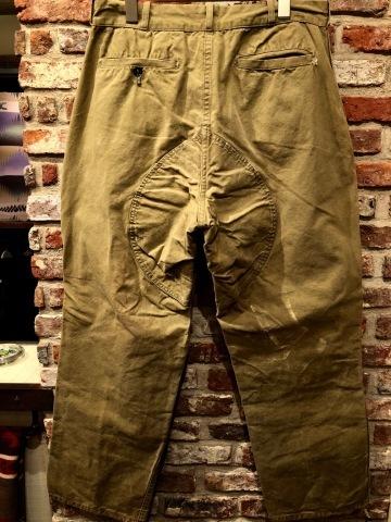 "1940s \"" U.S NAVAL \"" ALL cotton POPLIN - VINTAGE TRENCH COAT - D.NAVY - ._d0172088_20410391.jpg"