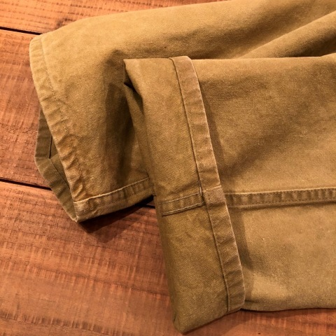"1940s \"" U.S NAVAL \"" ALL cotton POPLIN - VINTAGE TRENCH COAT - D.NAVY - ._d0172088_21392891.jpg"