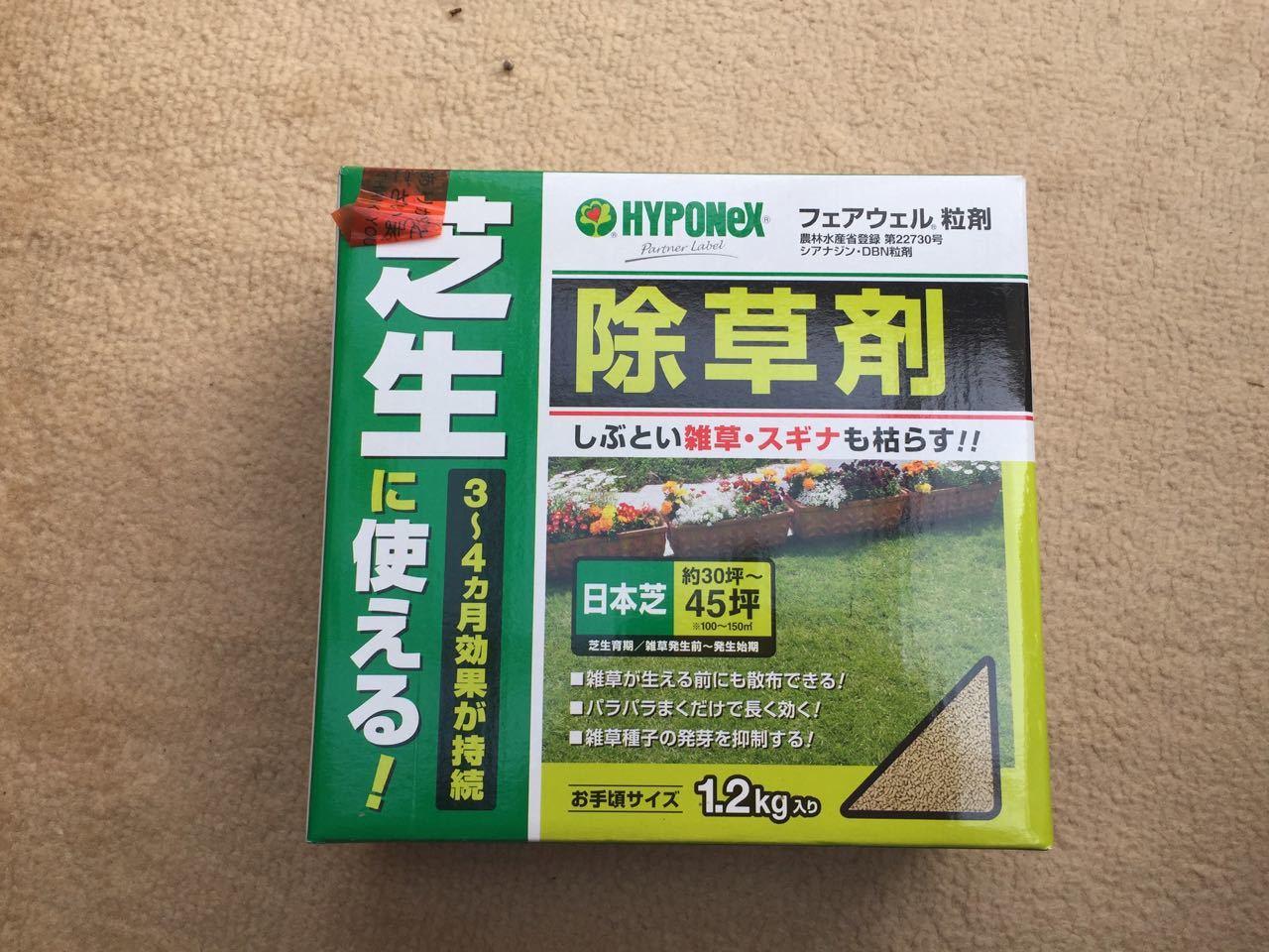 雑草抜きと除草剤撒き_f0130894_22351540.jpg