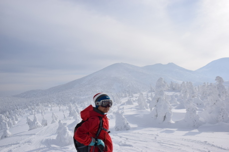 2018年12月22-24日 粉雪病の季節始まる。八甲田山で初滑り_c0242406_13120415.jpg