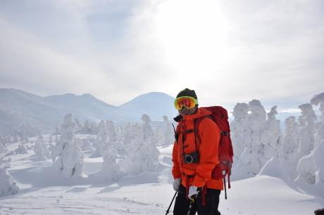 2018年12月22-24日 粉雪病の季節始まる。八甲田山で初滑り_c0242406_13121832.jpg