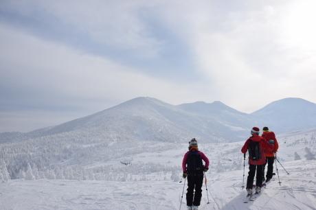2018年12月22-24日 粉雪病の季節始まる。八甲田山で初滑り_c0242406_13123310.jpg