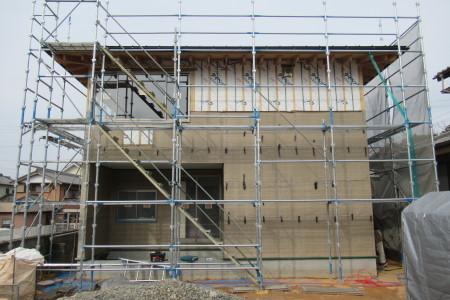 「玉城の家」階段がかかりました_b0179213_20061723.jpg