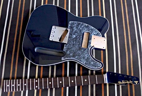 Night Blue Metallic色のStandard-Tの塗装が完了しました!_e0053731_15522422.jpg