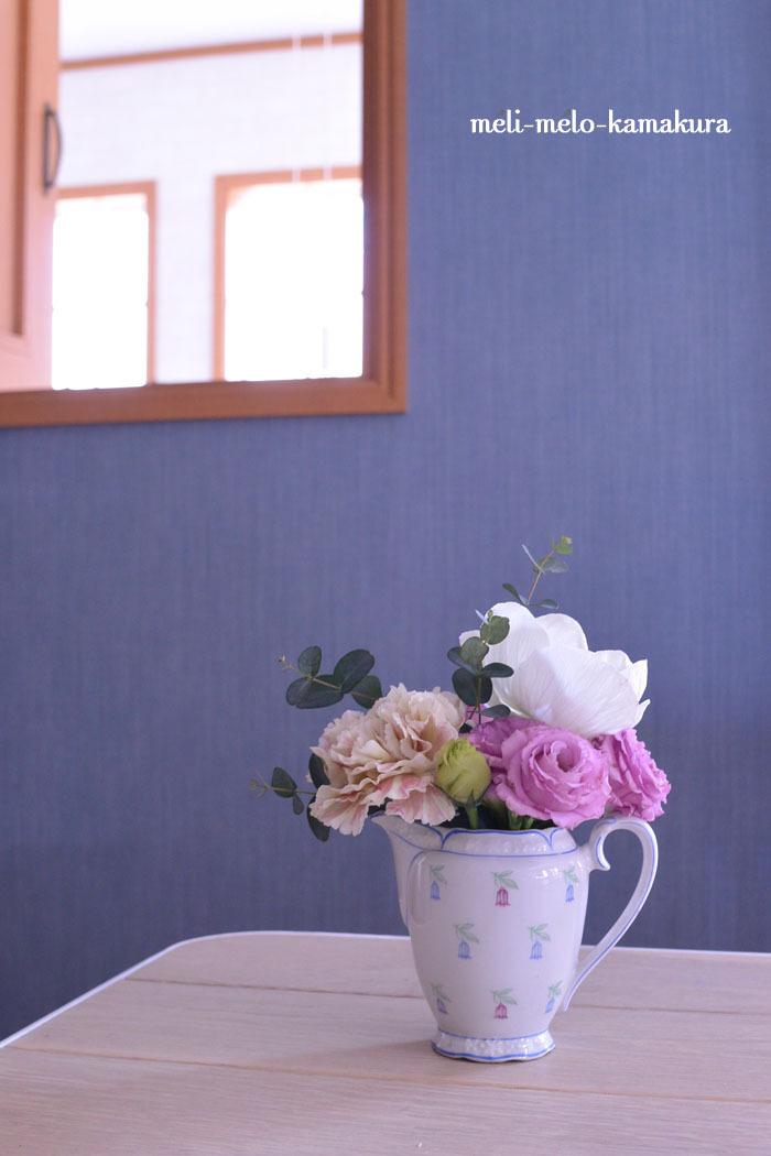 ◆フランスアンティーク*小さいのに可愛いドイツのミルクポット_f0251032_14503110.jpg