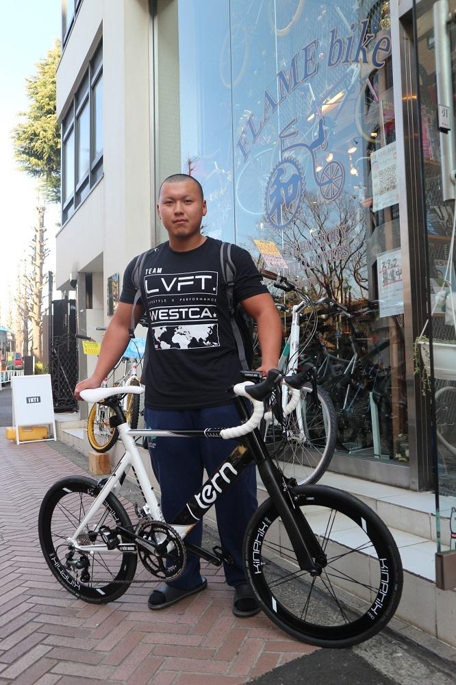 2月27日 渋谷 原宿 の自転車屋 FLAME bike前です_e0188759_10555000.jpg