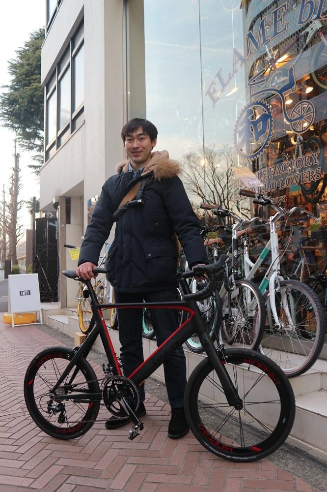 2月27日 渋谷 原宿 の自転車屋 FLAME bike前です_e0188759_10555225.jpg