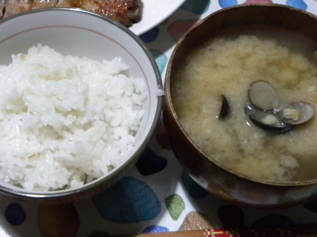 ポークソテー定食_c0162773_12191216.jpg