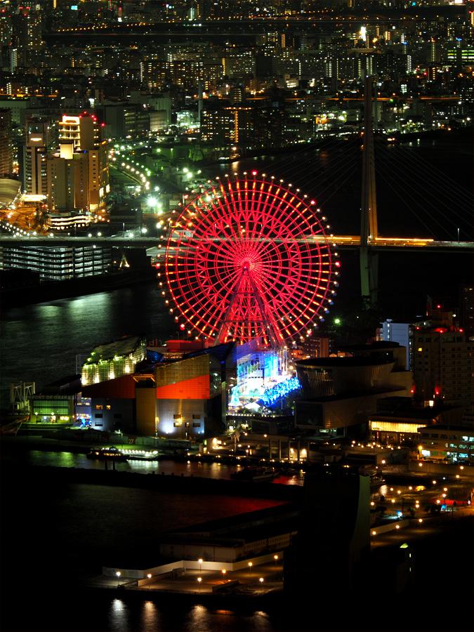 咲洲コスモタワーから夜景_d0283373_15323176.jpg