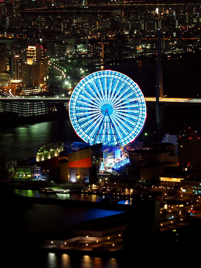咲洲コスモタワーから夜景_d0283373_15324671.jpg