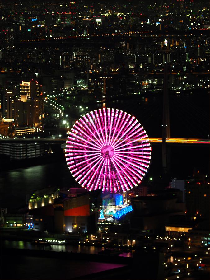咲洲コスモタワーから夜景_d0283373_15325815.jpg