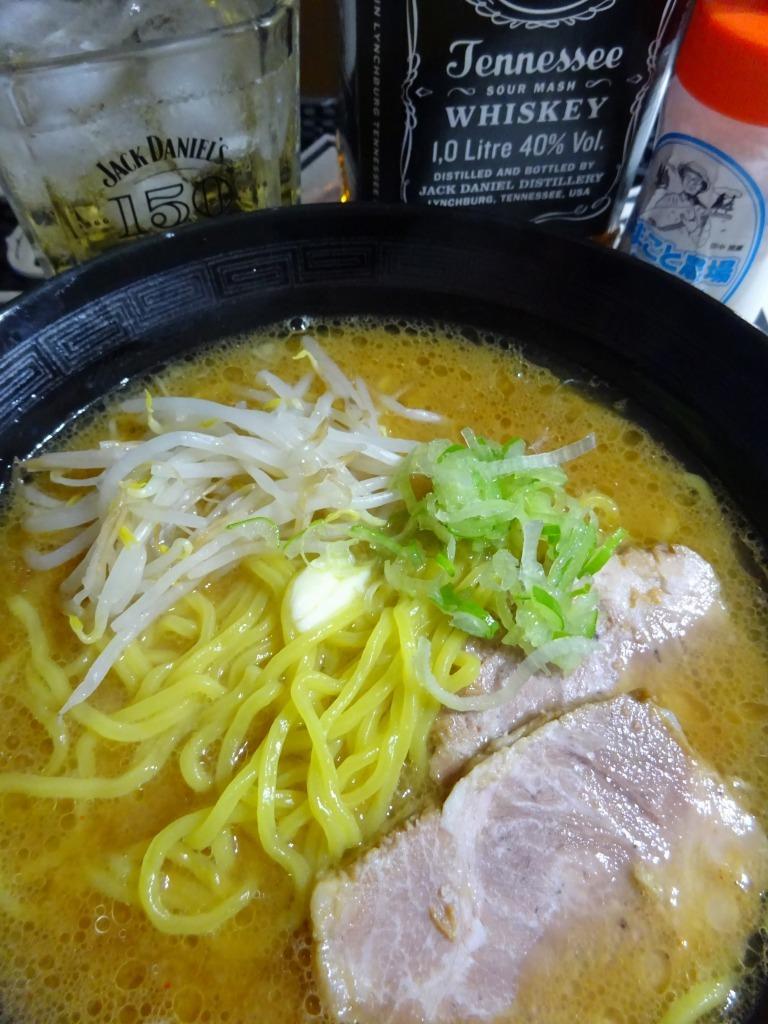 アメリカカブレかもろ日本人か分からぬ食卓 59 味噌バターラーメン_d0061678_12175384.jpg