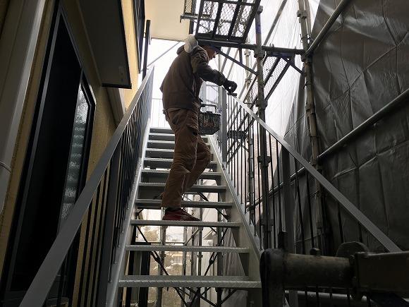 静波の 『内藤新聞店』 さんの外壁塗替えリフォーム ★塗装工事_d0205883_17311765.jpg