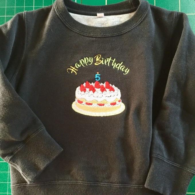 バースディケーキの刺繍_e0385587_18520531.jpeg