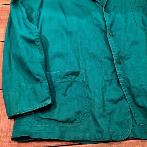 """1940-50s \"""" ARROW HEAD BRAND \"""" ALL cotton VINTAGE - Chain stitch - ENGINNER  JACKET ._d0172088_22114654.jpg"""