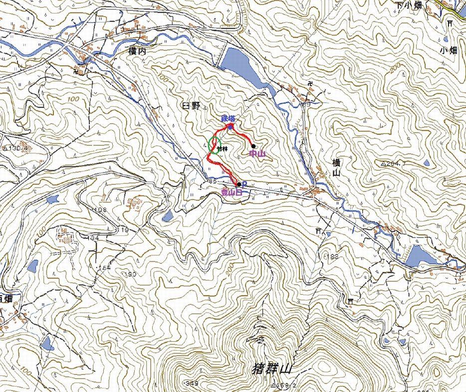 臼野の中山を登る 2019.2.26(火)_a0166196_1444124.jpg