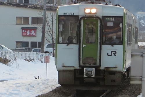南米沢駅で乗車し、米沢駅で下車し自宅へ_c0075701_16365667.jpg