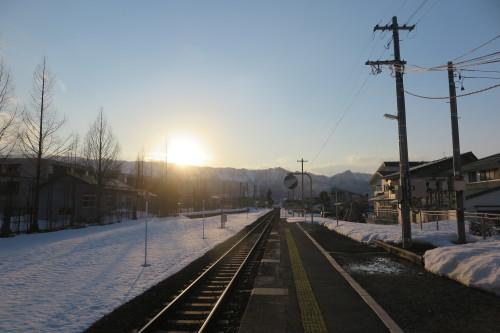 南米沢駅で乗車し、米沢駅で下車し自宅へ_c0075701_16375128.jpg
