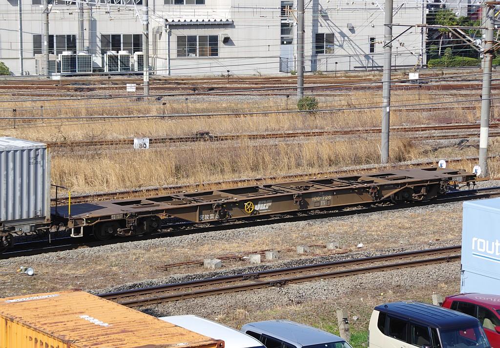2/23東京タにて4095レのコキとコンテナ_f0203926_22484612.jpg