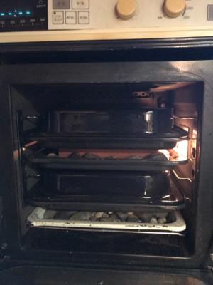ガスオーブンでハードパンを焼く_c0055363_17553971.jpg