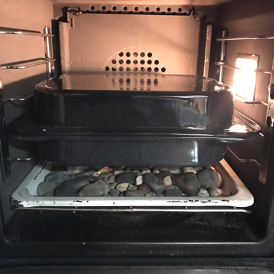 ガスオーブンでハードパンを焼く_c0055363_17554072.jpg