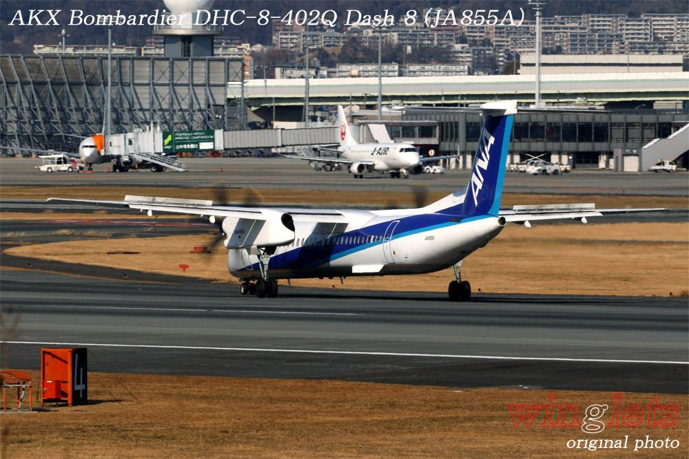 '19年 伊丹空港レポート・・・AKX/JA855A_f0352866_2102242.jpg