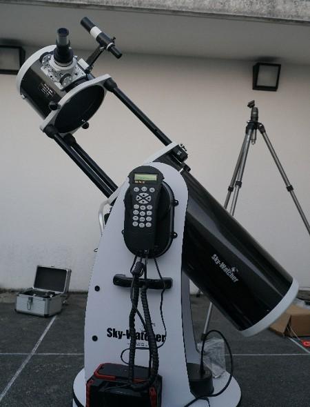 観望会用に Skywatcher DOB GOTO8 を買った_a0095470_22053015.jpg