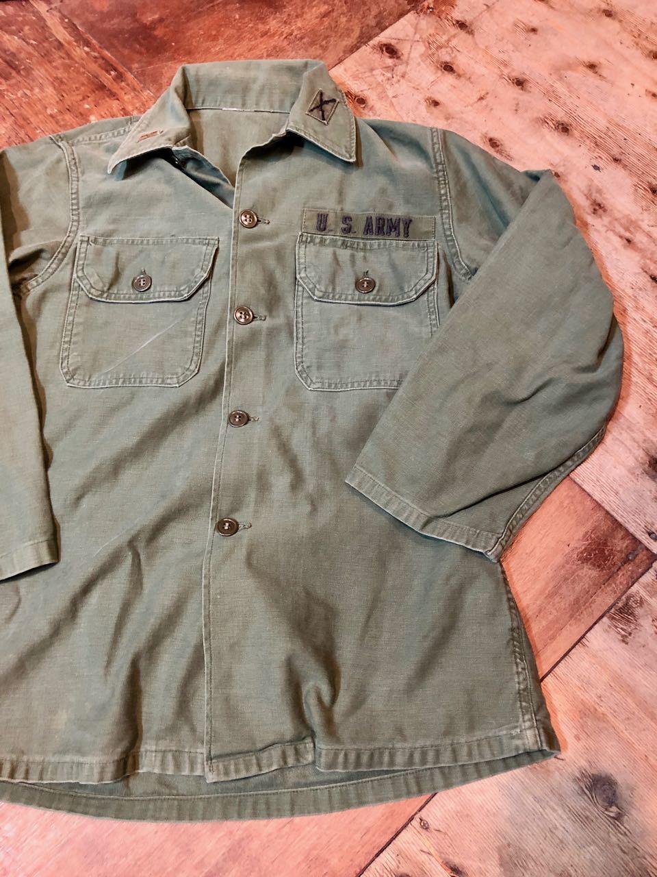 3月2日(土)入荷! 60s U.S ARMY UTILITY シャツ! _c0144020_13575940.jpg