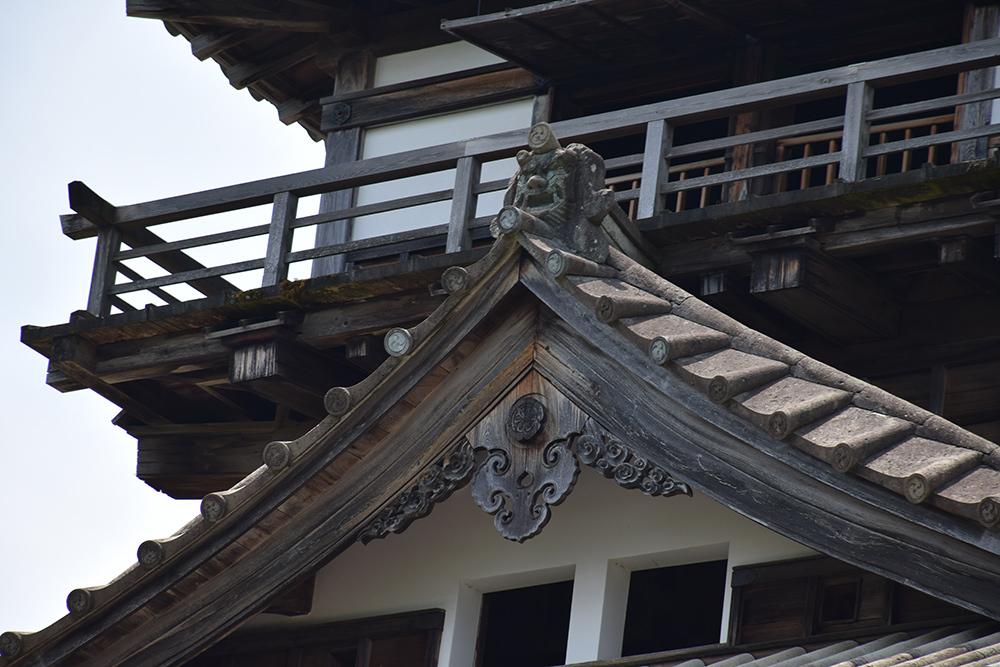 日本最古の現存天守、丸岡城を訪ねて。 その1 <天守・外観>_e0158128_19393744.jpg