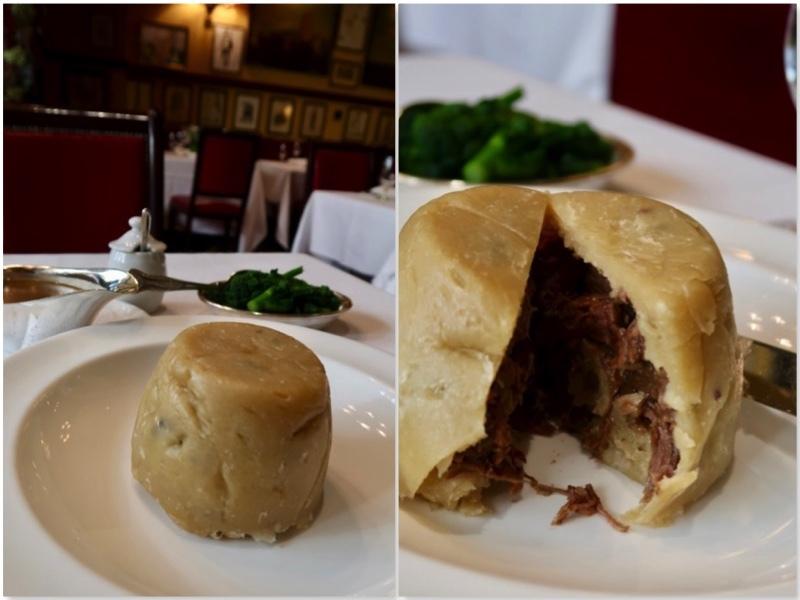 コベントガーデンの老舗レストラン Rules のステーキ&キドニープディングとパイ _f0380234_18422200.jpg