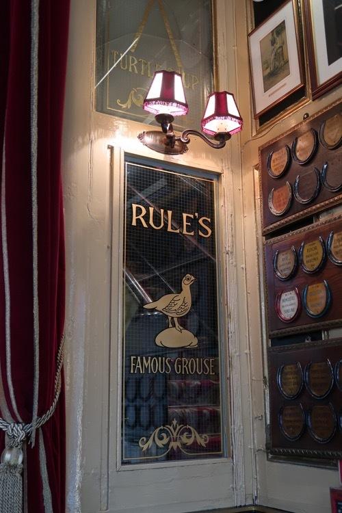 コベントガーデンの老舗レストラン Rules のステーキ&キドニープディングとパイ _f0380234_18424003.jpg