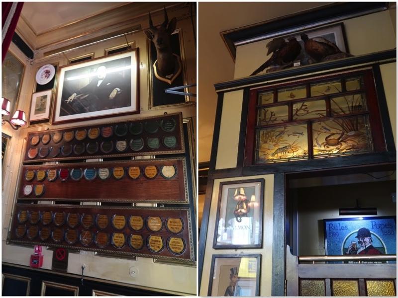 コベントガーデンの老舗レストラン Rules のステーキ&キドニープディングとパイ _f0380234_18453486.jpg